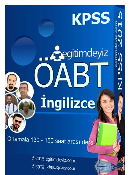 KPSS ÖABT İngilizce Eğitim Seti - KPSS ÖABT İngilizce Eğitim Seti 2015