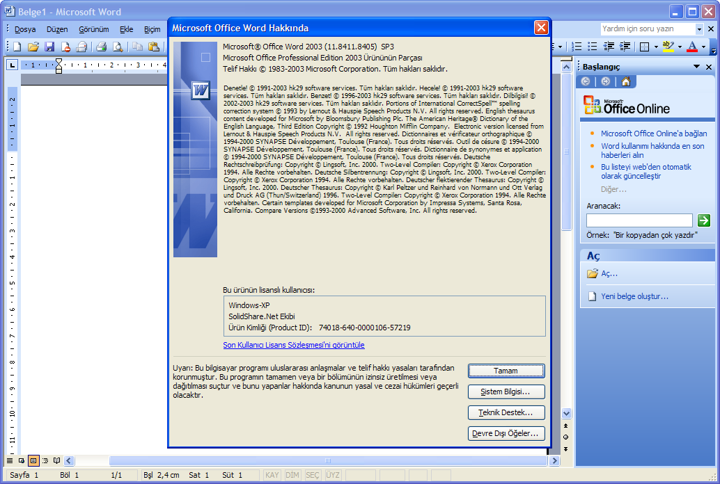 pdf download microsoft office 2003 for windows xp sp3